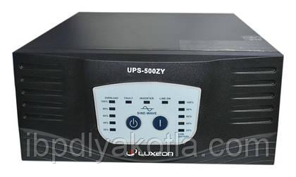 Обзор ИБП Luxeon UPS-500ZY для котлов и автономных систем отопления