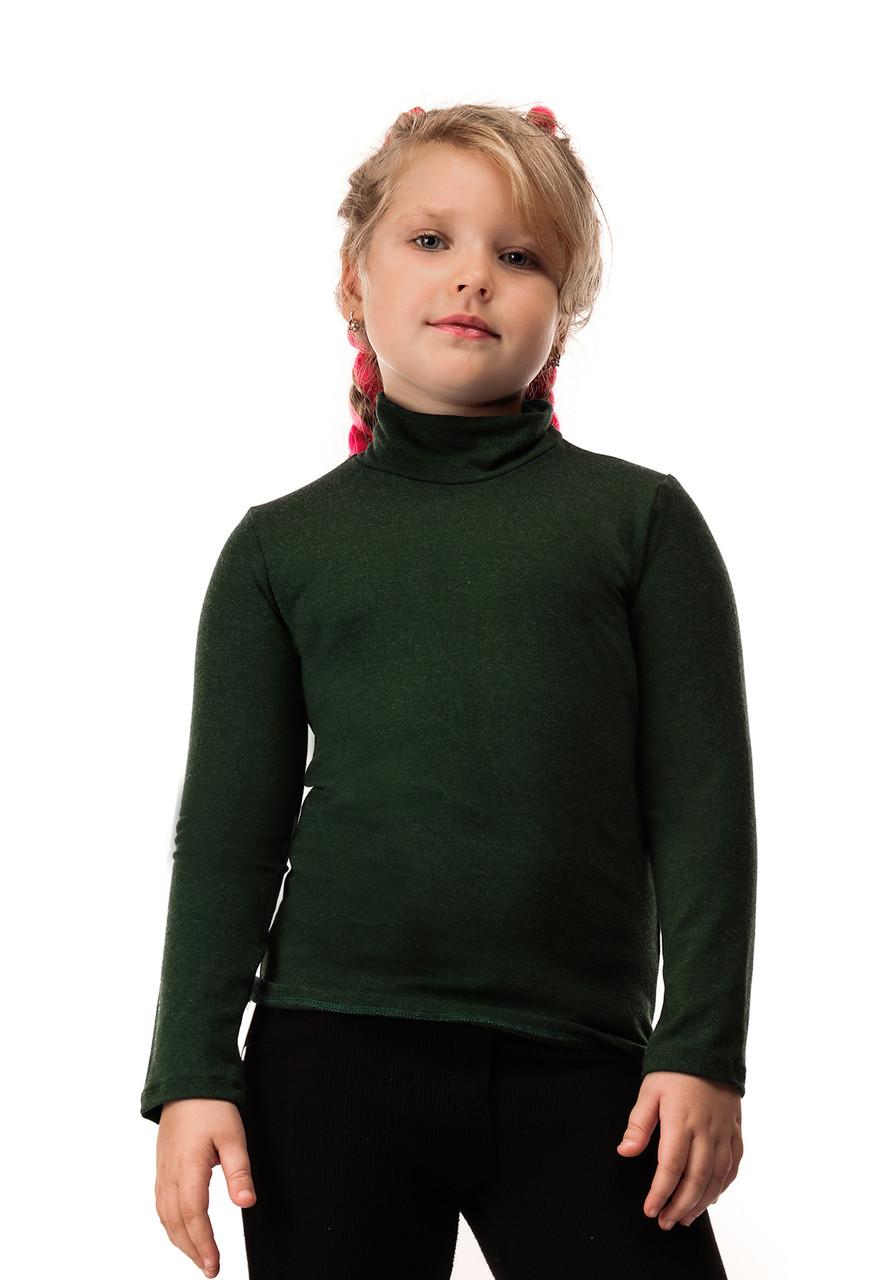 Гольф детский кашемир зеленый