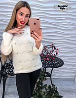 Женский ангоровый свитер, фото 1