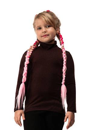 Гольф детский кашемир шоколад, фото 2