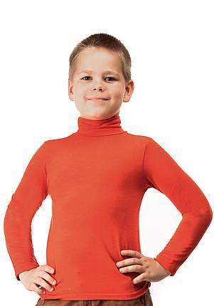 Гольф детский кашемир терракот, фото 2