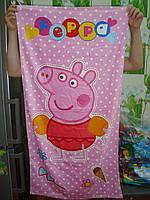 Пляжное полотенце Свинка Пеппа