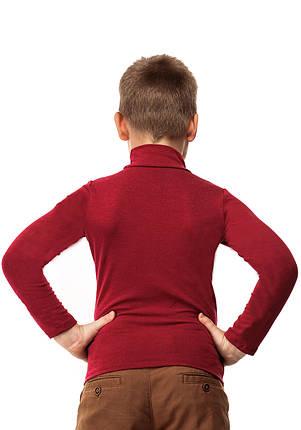 Гольф детский кашемир бордо, фото 2