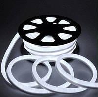 Светодиодный LED гибкий неон 2835\120 IP68 220V—белый.