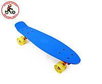 Скейт Penny Board Ecoline 22 со светящимися колесами