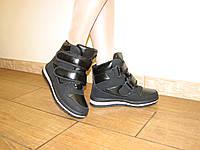 Зимние женские кроссовки на липучках 36 -41