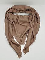Большой кашемировый платок, шаль Louis Vuitton капучино