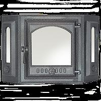 Эркерная каминная дверца SVT 413