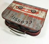 Подарочная коробка чемодан раритет авто 3 шт