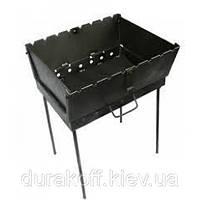 Раскладной мангал чемодан на 8 шампуров 2мм