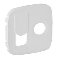 Лицевая панель для розетки TV+RJ45, Legrand Valena Allure Белый