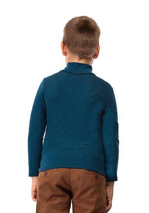 Гольф детский кашемир джинс, фото 2