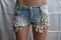 Шорты джинсовые 432
