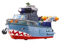 Игровой набор Корабль Военный Шторм с лебедкой Dickie 3308365 GL