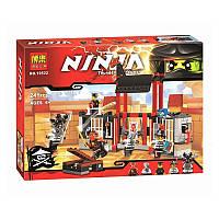 Конструктор Bela Ninja 10522 Побег из тюрьмы