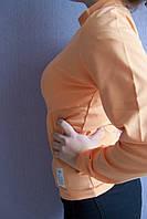 Гольф для девочки персиковый водолазка  плотный с 36 размера