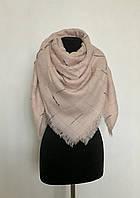 Теплый стильный женский платок
