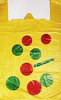 """Пакет полиэтиленовый Майка  """"Шар"""", Упаковка: 50 шт, Ширина: 35 см, Высота: 58 см"""
