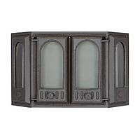 Эркерная каминная дверца SVT 416