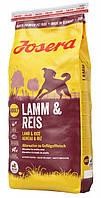 Сухой корм для взрослых собак Josera Lamm & Reis 15кг