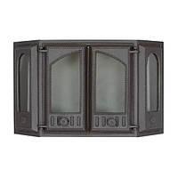 Эркерная каминная дверца SVT 417