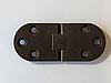 Петля для складаного столу 180 градусів (Siso) Темна Бронза 30х72 мм