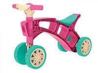 Ролоцикл беговел Розовый/ Желтый Технок 3824, фото 1