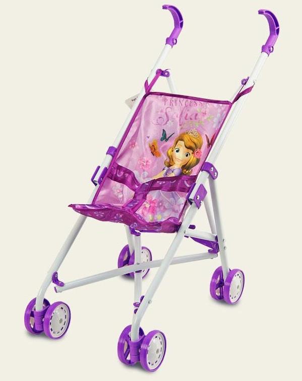 Коляска Disney Sofia принцесса София тросточка, поворотные колеса