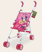 Коляска Disney Minnie Мини Маус тросточка, поворотные колеса