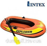 Надувная лодка Intex 58331 EXPLORER + весла + насос