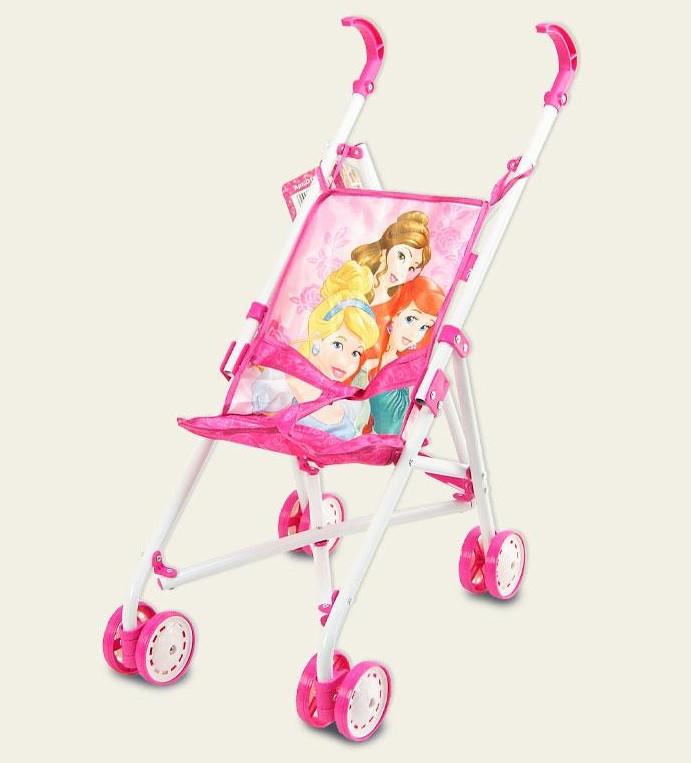 Коляска Disney Princess Принцессы тросточка, поворотные колеса