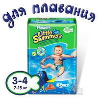 Подгузники-трусики Huggies Little Swimmer 3-4 12x8 EU