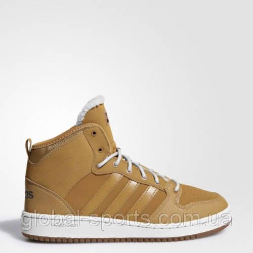 Мужские зимние кроссовки adidas CLOUDFOAM HOOPS MID WINTER (АРТИКУЛ:AC7789)