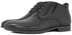 Мужские зимние ботинки Everest. Классика черного цвета.