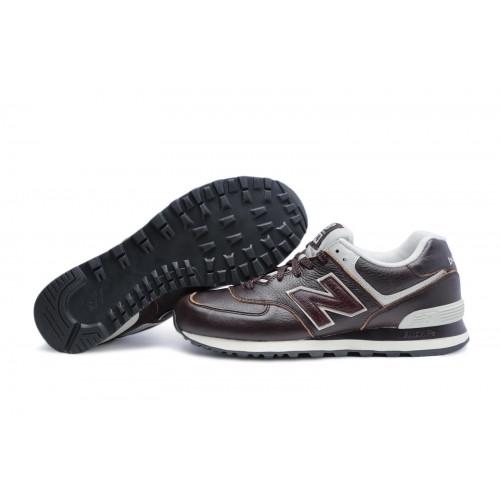 sports shoes b1260 e6ae9 Кроссовки NB ML574lua-leather