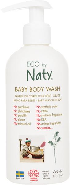 Органический детский гель для душа Eco by Naty 200 мл