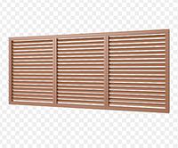 Решетка радиаторная 600*1500 Коричневая, фото 1