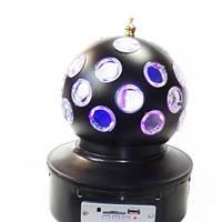 Диско шар Music Ball K1 светодиодный врашающийся.