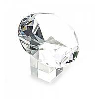 """Кристалл хрустальный на подставке """"Бриллиант"""" 10 см (25655)"""