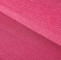Папір креп 547 вінтажний рожевий Італія