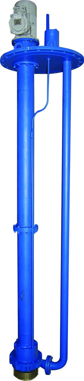 Полупогружной вертикальный электронасос  серии НВД