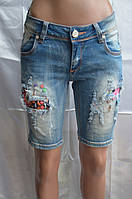 Шорты джинсовые 390
