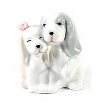 Собачки пара фарфоровые 7х6х4,5 см (30701)