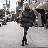 Супер стильная курточка на натуральном пуху оверсайз