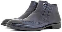 Мужские зимние ботинки Everest синего цвета