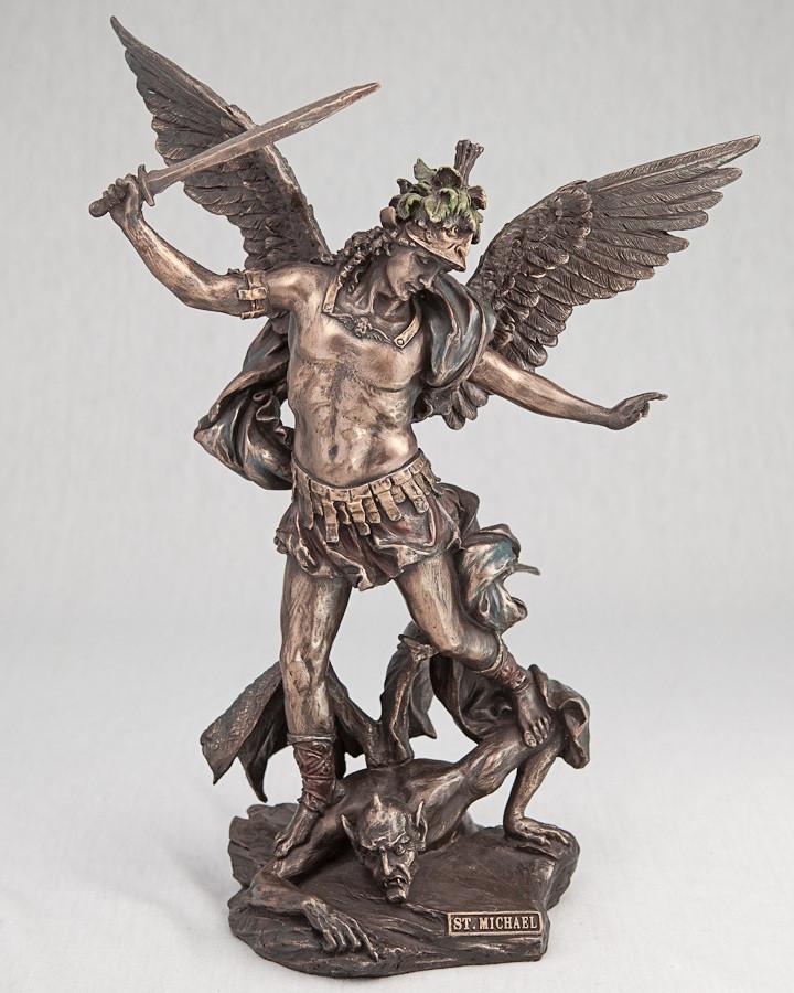 Архангел Михаил статуэтка  28 см Veronese 75361 A4