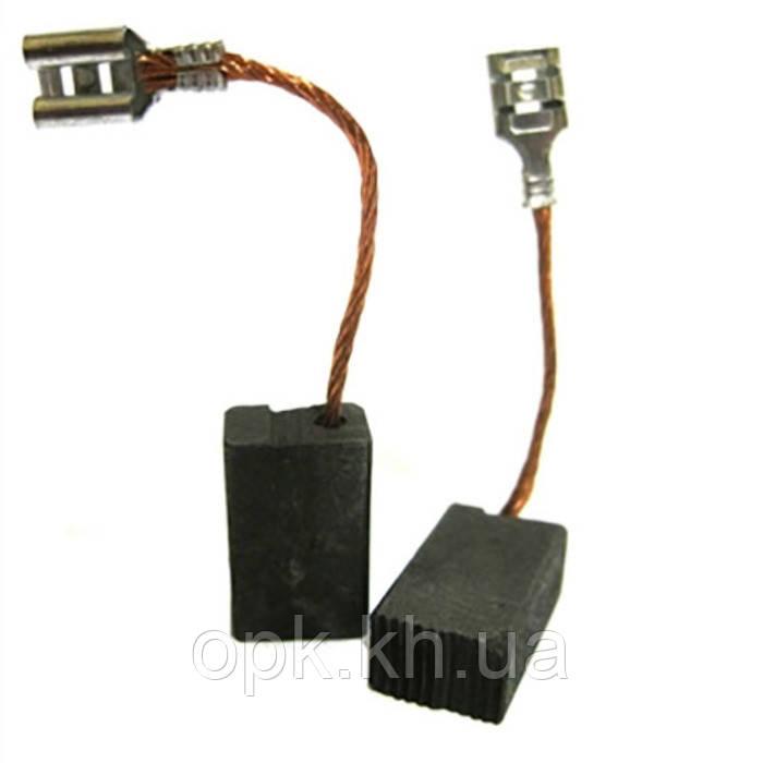 Щетки угольно-графитовые тст-н 8*12 мм (контакт - клемма «мама», комплект - 2 шт)