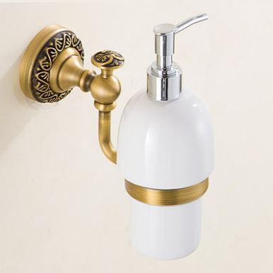 Дозатор для рідкого мила миючого засобу настінний 0462