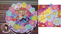 Вафельные цветы Шиповника, 10шт