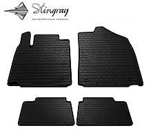 LEXUS ES 2006-2012 Комплект из 4-х ковриков Черный в салон
